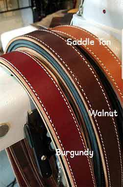 Leather Radio Strap Colors